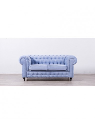 Sofá Chesterfield Turquesa